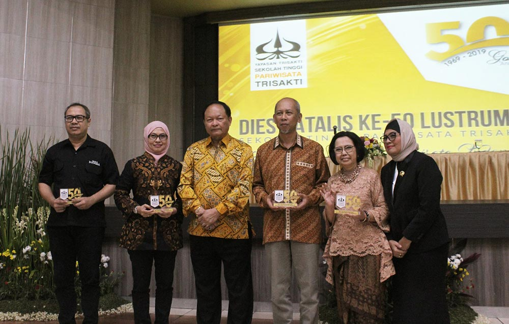 The Belantara Foundation Receives Appreciation in the 50th Anniversary of the Trisakti Institute of Tourism