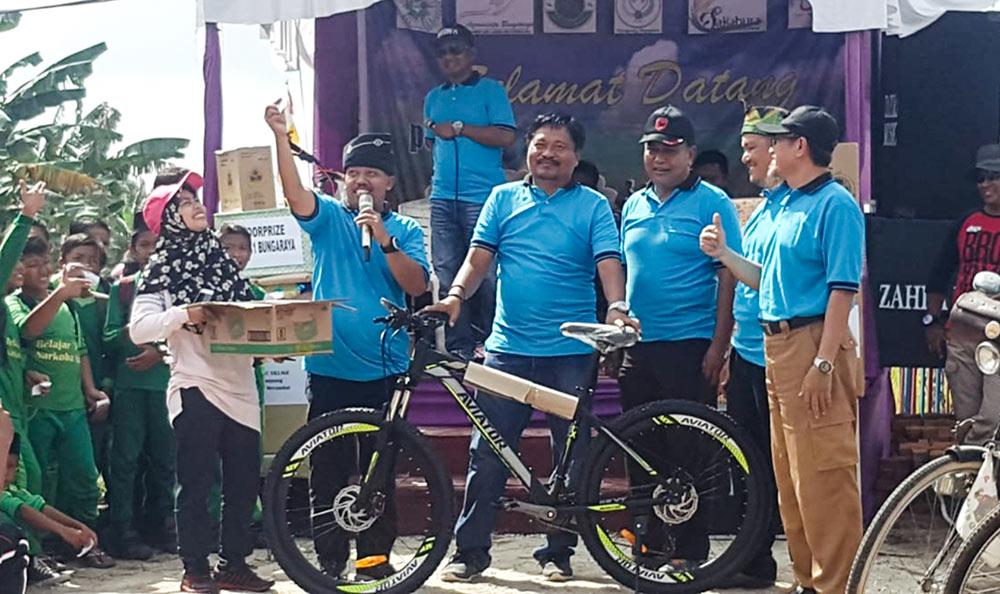 Siak Bicycle tour: Thousands of Cyclers Join the 3rd Tour de Sawah in Bungaraya