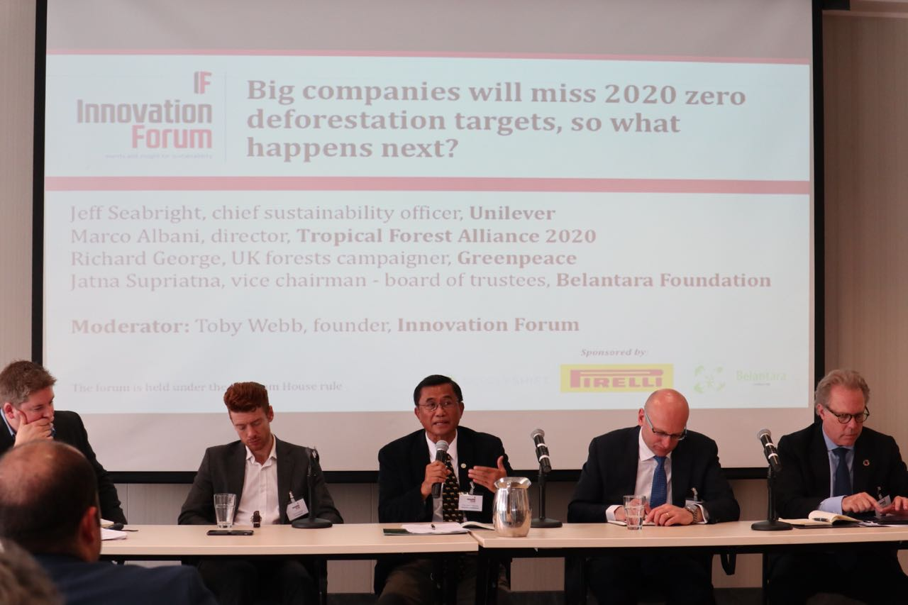 Providing Solution Options, Belantara Foundation Participates in the Discussion Panel on